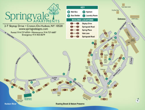 Springvale Apartments Map