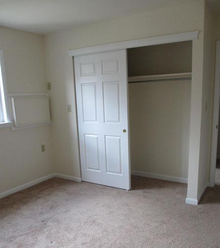 Type A 1 Bedroom Closet