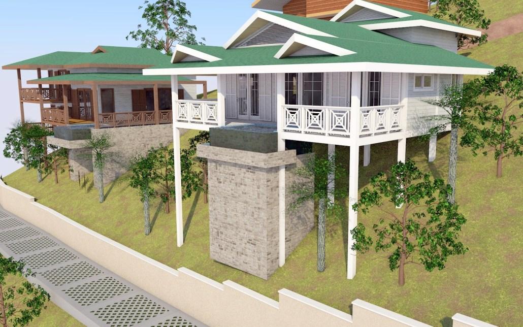 Garifuna house