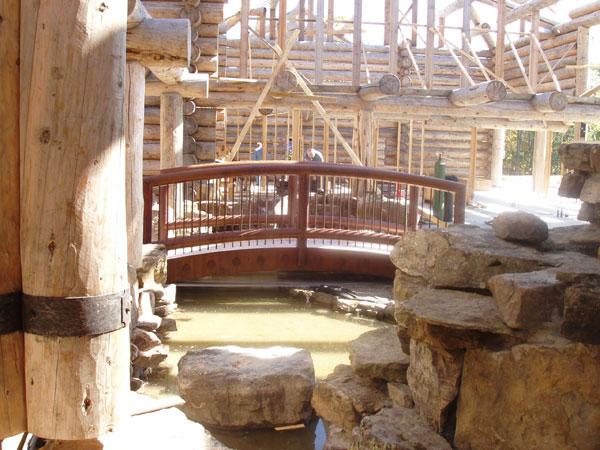 Tony Stewart's Log Home (6/6)