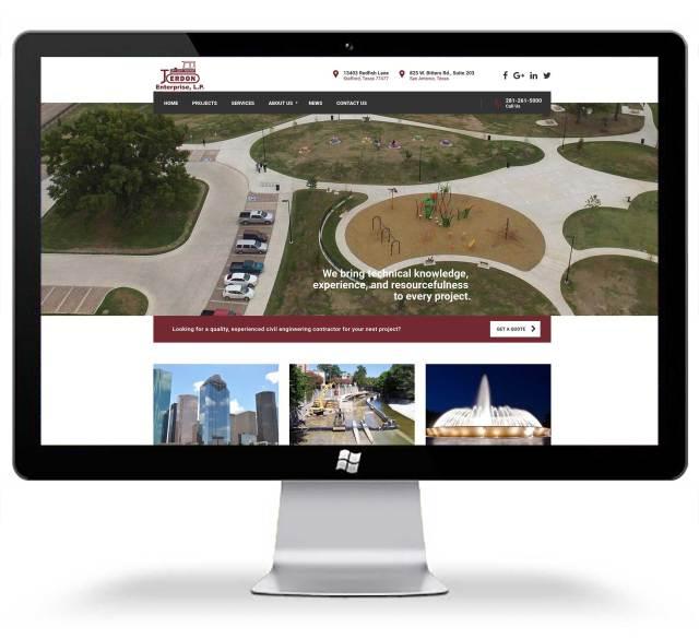 Springwood Marketing Website Design Jerdon Enterprise LP