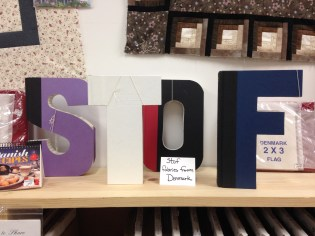 Letters Made Out of Books