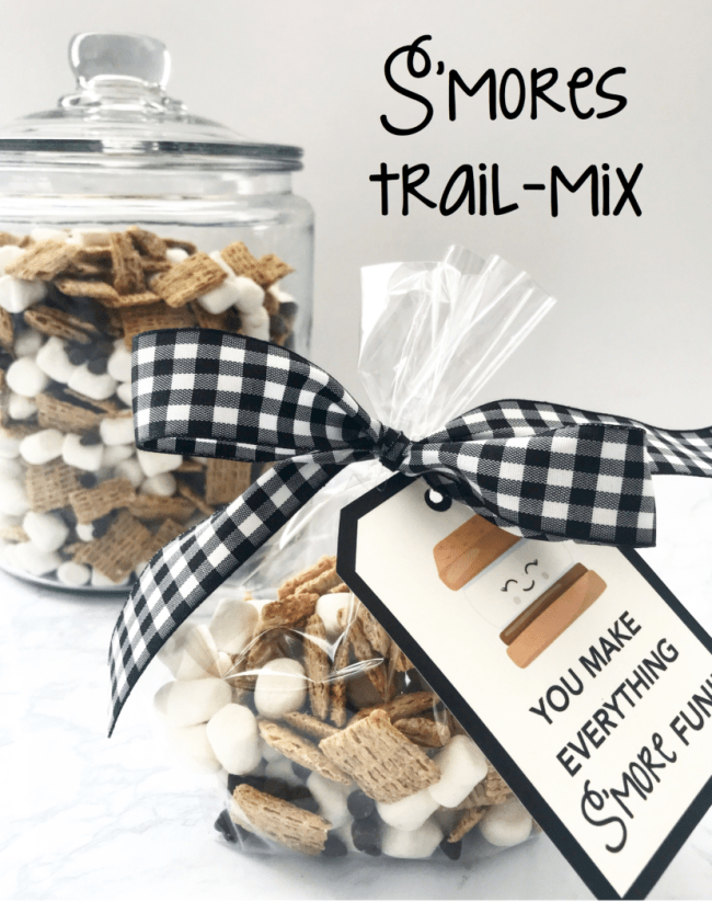 S'mores trail mix on display