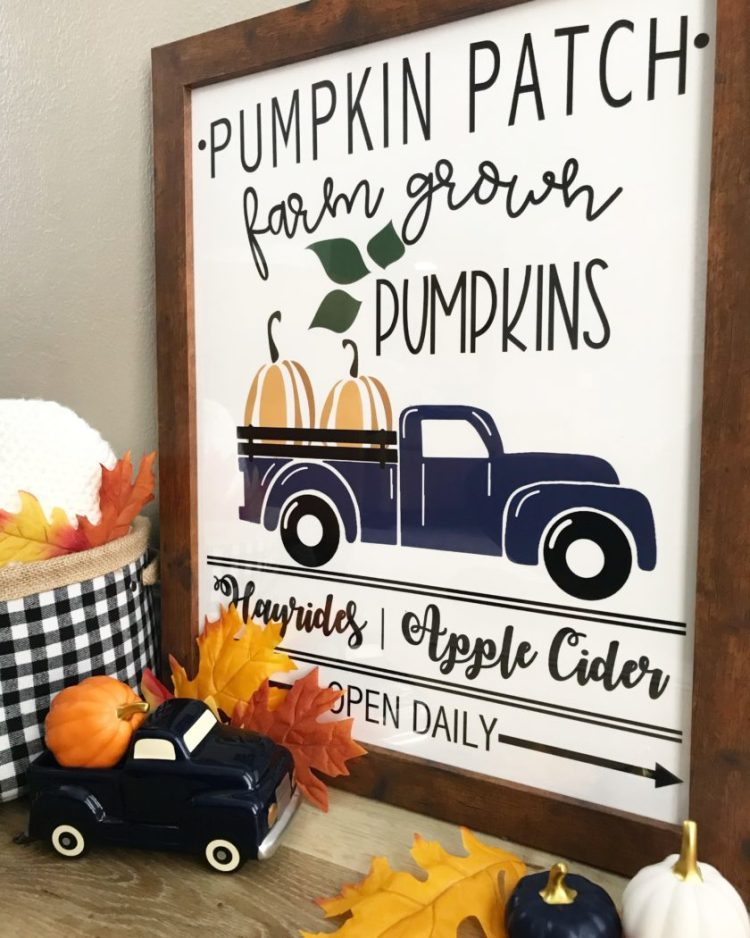 pumpkin patch sign printable