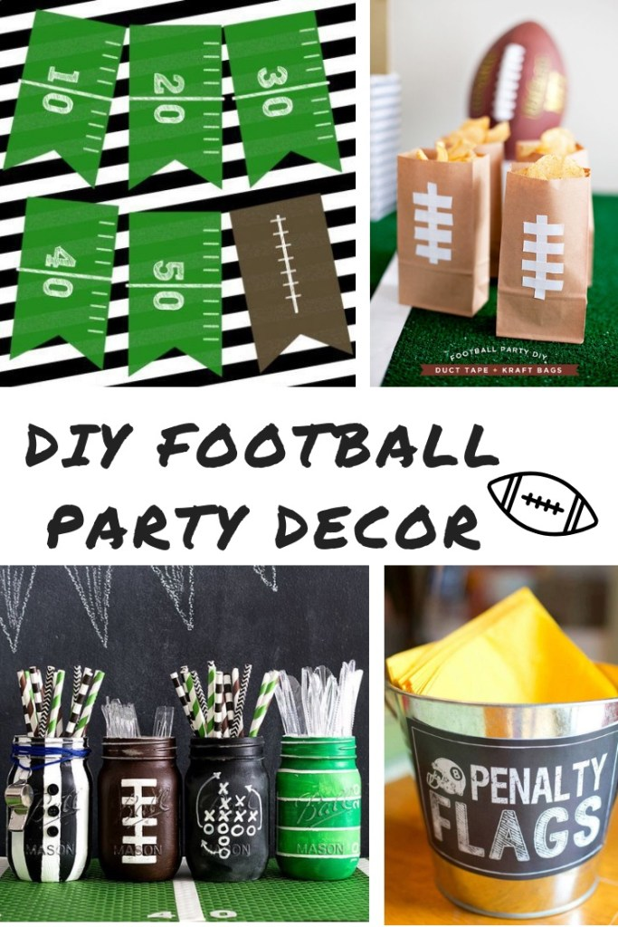 Diy Football Party Decorations To Get Your Home Super Bowl Ready