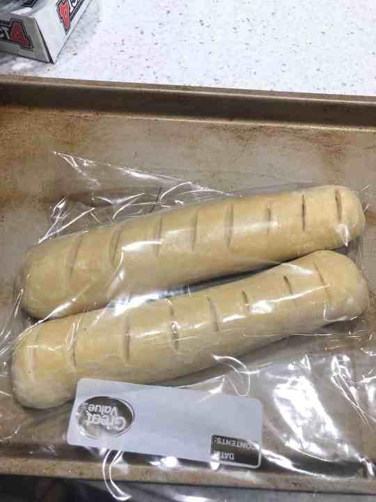 Freezer ready french bread