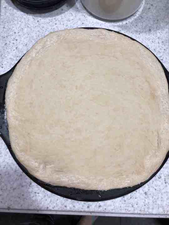Pretzel Crust for Pizza