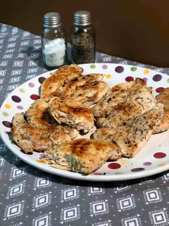 Easy Stove Top Grilled Chicken