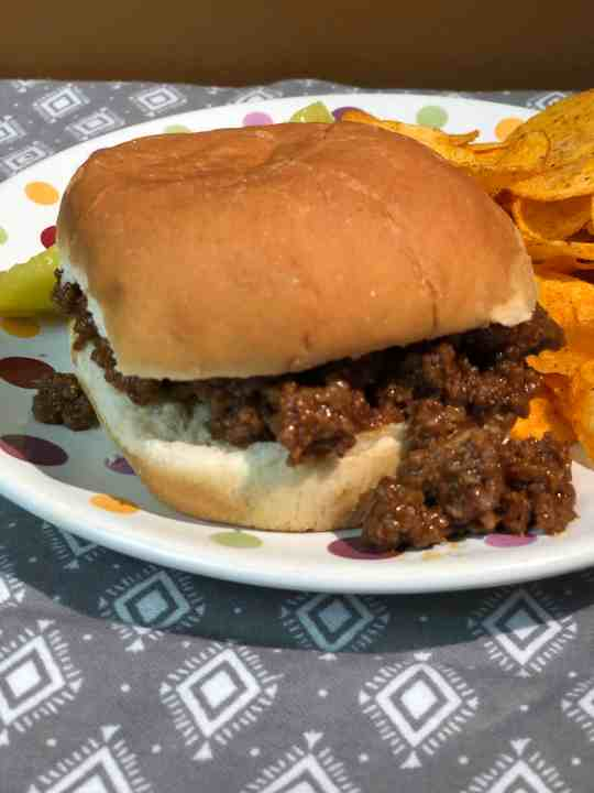 Slow Cooker BBQ Sloppy Joes