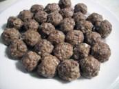 Turkey Sausage Italian Meatballs