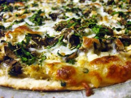 Rustic Chicken and Herb White Pizza