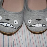 DIY: My Neighbour Totoro Shoes