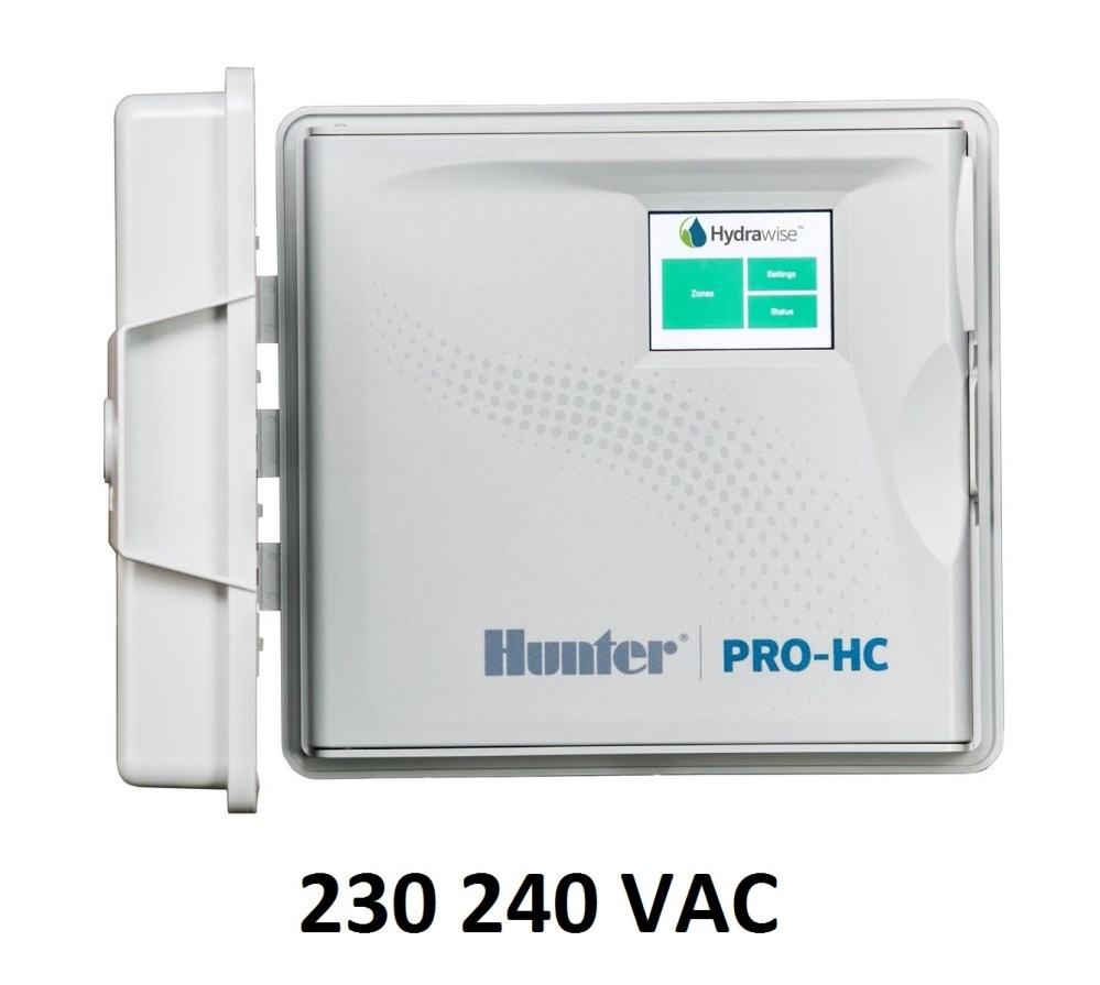 medium resolution of details about hunter 230v 240v hydrawise pro hc phc 600i e 6 zone wifi controller i phone app