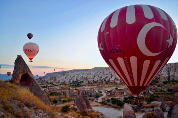 Exploring Turkey and Turkish Cuisine - Hot Air Balloons