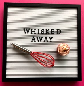 whisked away