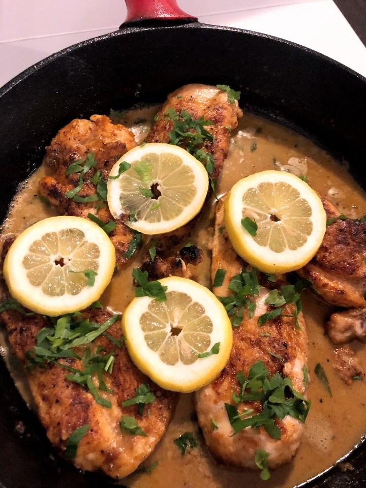 chicken piccata ish recipe