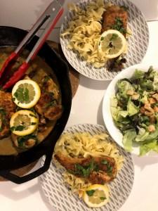 Easy Weeknight Chicken Piccata – ish