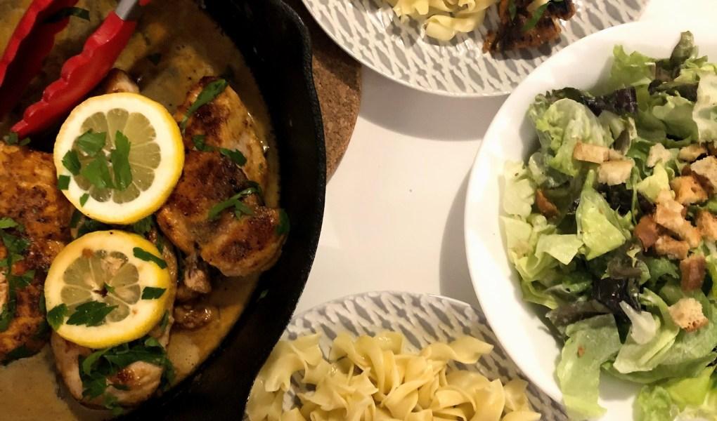 easy weeknight chicken picacata
