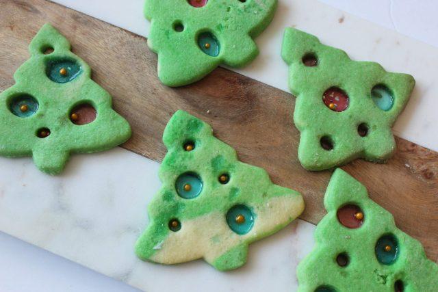 Christmas Tree Ornament Sugar Cookie