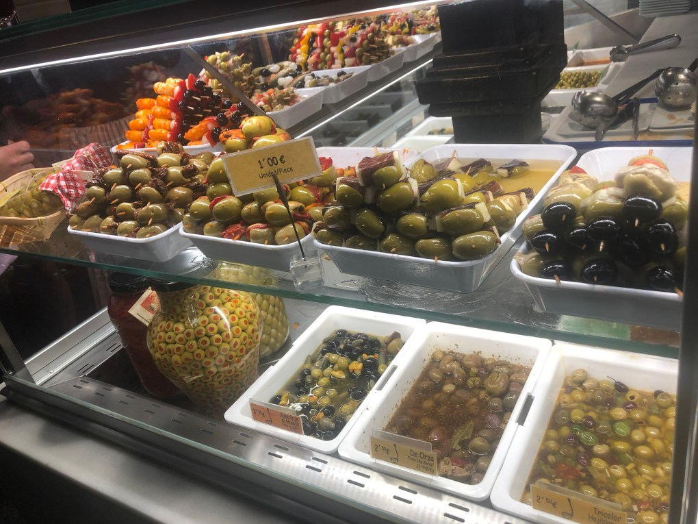 What to eat in Spain - lots of Olives