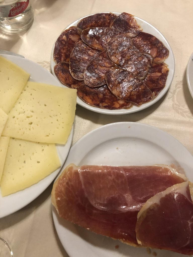 What to eat in spain - jamon iberico