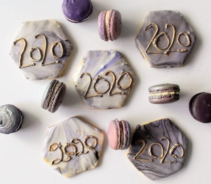 Marbled Sugar Cookies