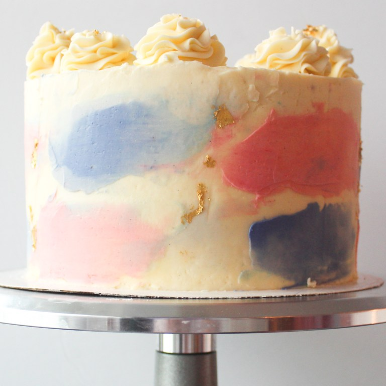 Gender Reveal cake Surprise Feature