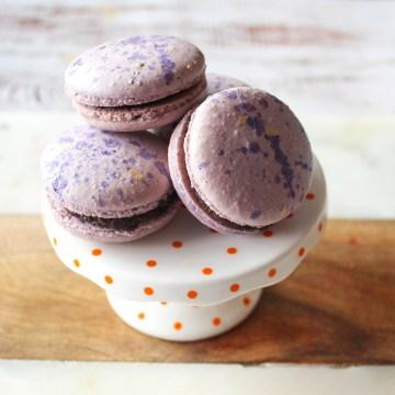 Splatter Macarons -Feature
