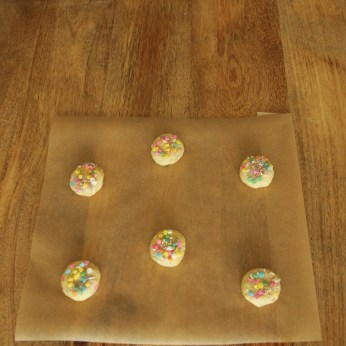 11 Flattened Sprinkles