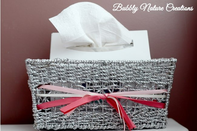 DIY Kleenex Hand Towel Holder CGC CleanHands  Sprinkle