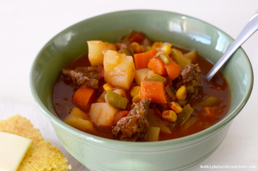 Moms Vegetable Beef Stew Crockpot Heirloom Recipes