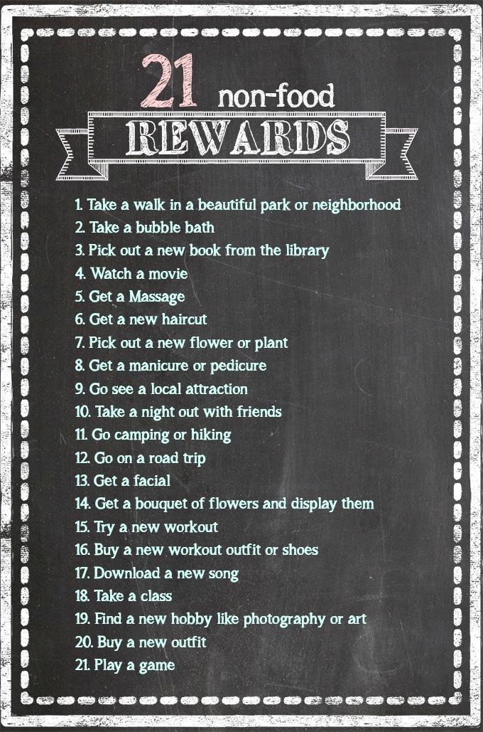 Weight Loss Goal Rewards : weight, rewards, Non-Food, Rewards, Celebrate, Weight, Fitness, Sprinkle