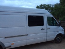 Sprinter Van Sliding Windows