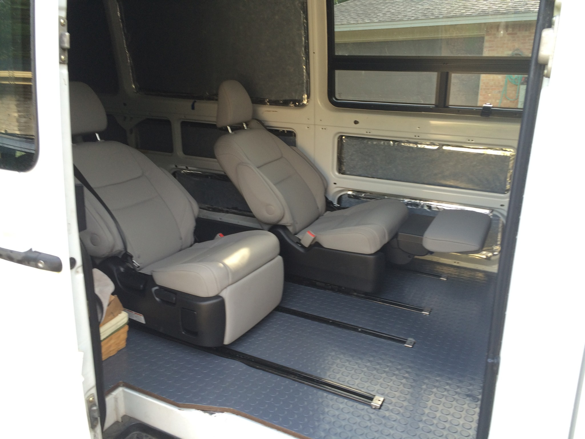 car seat desk chair conversion bean bags chairs for toddlers reclining passenger seats in a sprinter camper