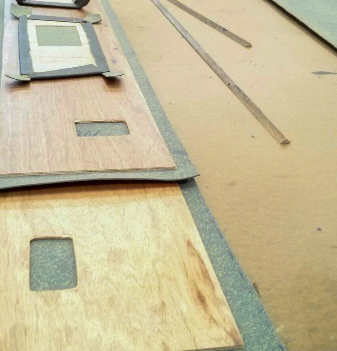 Contact Adhesive Foam To Wall Panels Sprinter Adventure Van