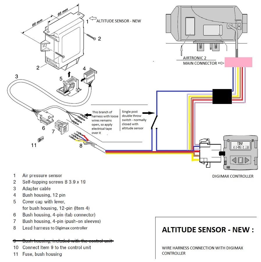 pressure sensor wiring diagram espar airtronic altitude sensor     sprinter adventure van unik 5000 pressure sensor wiring diagram espar airtronic altitude sensor