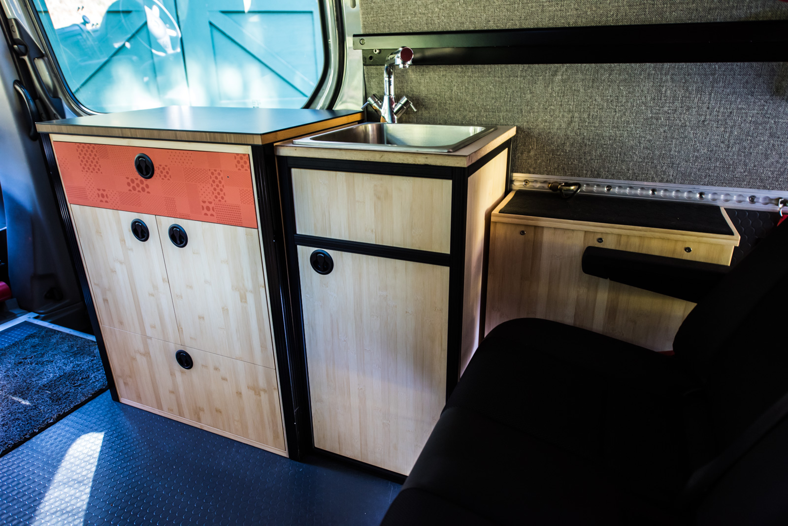 80 20 Sink Cabinet Build Details Sprinter Adventure Van
