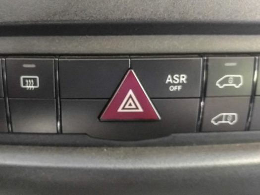 ASR button on dash by hazard warning flashers