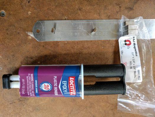 Loctite two-part epoxy for plastics