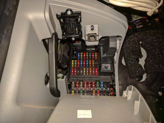 OBD-2 socket in an NCV3 Sprinter van