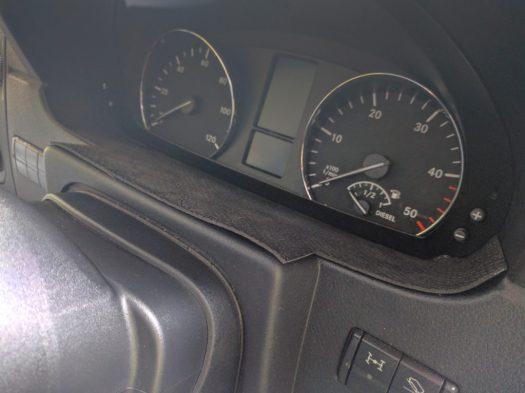 Non-slip mat on dash