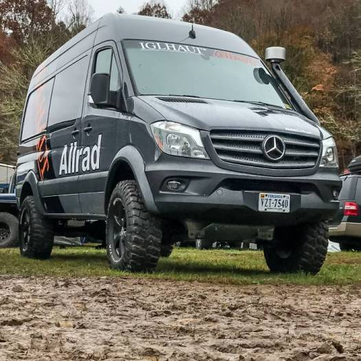 Iglhaut 4x4 at Overland Expo captured by GearJunkie.com