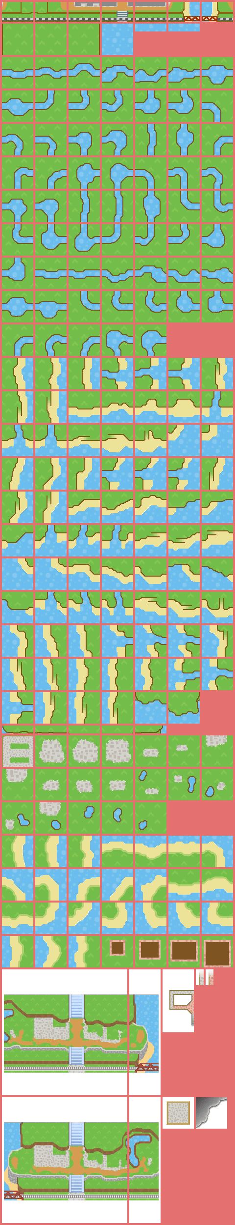 New Leaf Maps : Animal, Crossing:, Acres, Spriters, Resource