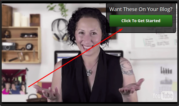 Create Call to Action Button Inside YouTube Video
