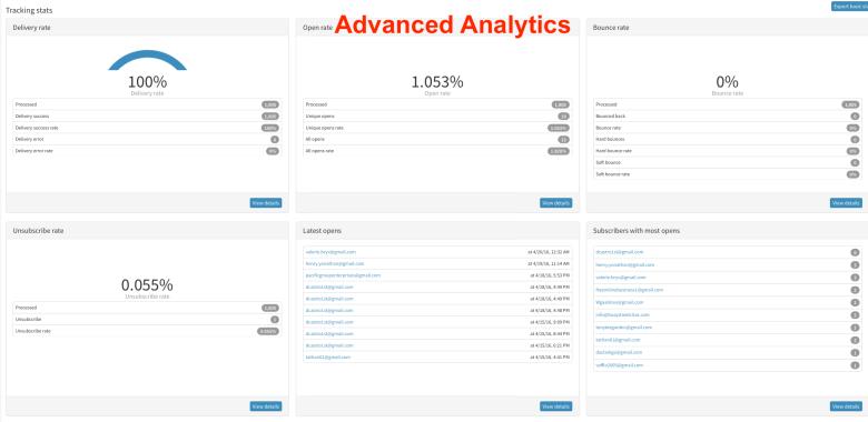 In-Depth Detailed Analytics