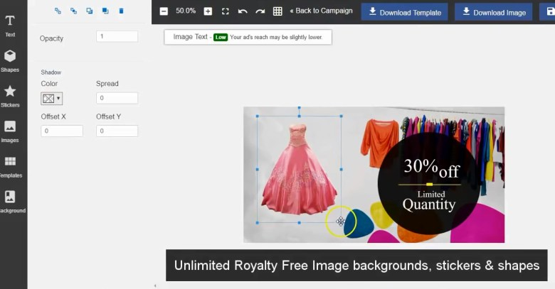 Create Effective Facebook Ads Design with This Drag and Drop Software