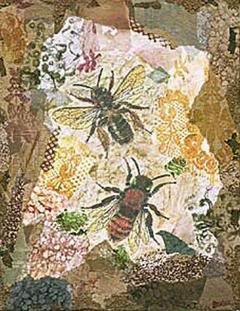 Honeycomb Bees by Annabel Hewitt
