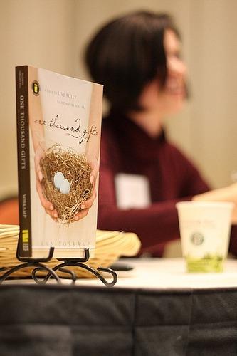 Ann Voskamp's new book '1,000 Gifts'