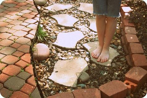Feet on the Path