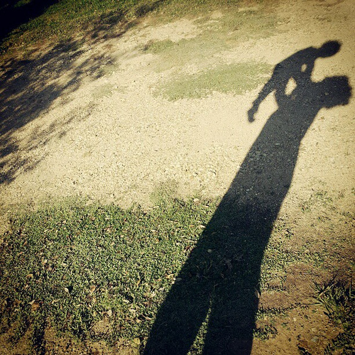 Shadow #baby #mother